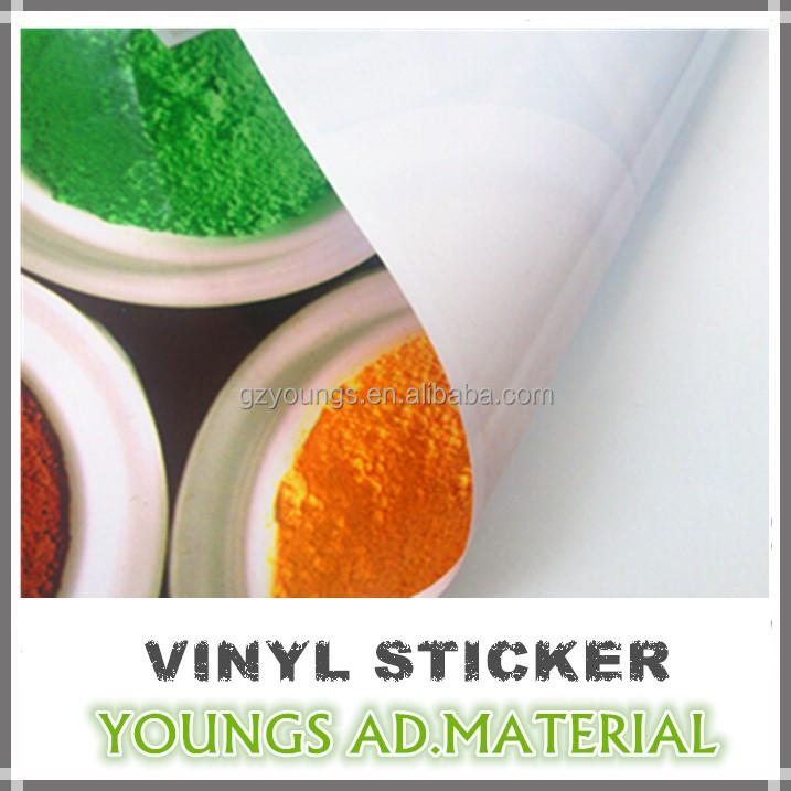 Air Free Self Adhesive Vinyl For Cast Vinyl Film Car Body Advertising