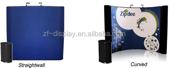 Luxury 10ft Velcro Pop Up Display Stand Providers