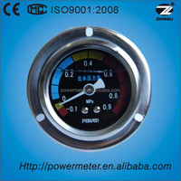 50mm stainless steel mounting fuel front flange nitrogen pressure gauge