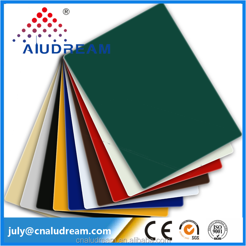 Size 1500x3050mm Solid color Aluminium Polycarbonate Composite <strong>sheet</strong>