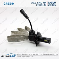 5G Cree H4 Mortorcycle car cree led high power headlamp