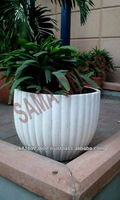Oval Lined Planter
