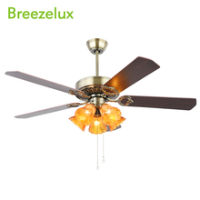 High quality ceiling fan with light small vintage large industrial Chandeliers