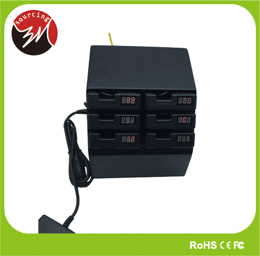 5V 1A 6pcs Charger Mobile Charger Cafe Charging station for Smartphone with LED Battery Indicator Charger Cafe