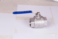 3/8 Stainless Steel CF8 2PC Threaded End NPT Ball Valve