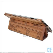 Wooden Wood Hard Back Cover Case for iPad 3 Wood Hard Case