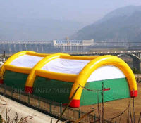 Huge inflatable game tents, inflatable tents for sport games K5016