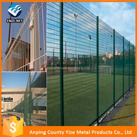Alibaba China factory anti-corrosive beautiful form 1/4 inch galvanized welded wire mesh
