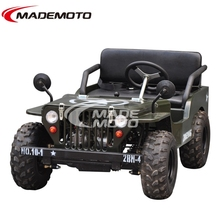 Best seller with optional part children jeep bed powered motor mini jeep atv for sale