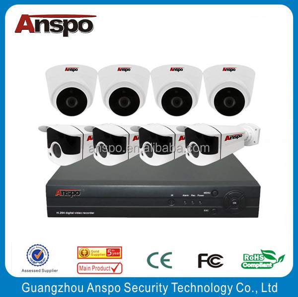 Anspo hot selling hi max cctv camera balcony security system 3g ip camera