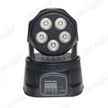 Pro stage lighting 5pcs 10W RGBWA 5in1 led mini wash moving head