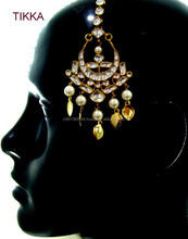 Latest Kundan Maang Tikka Designs