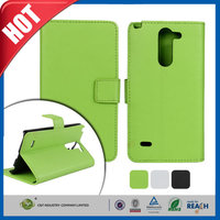 C&T The Newest PU standing wallet flip leather case for lg g3 stylus