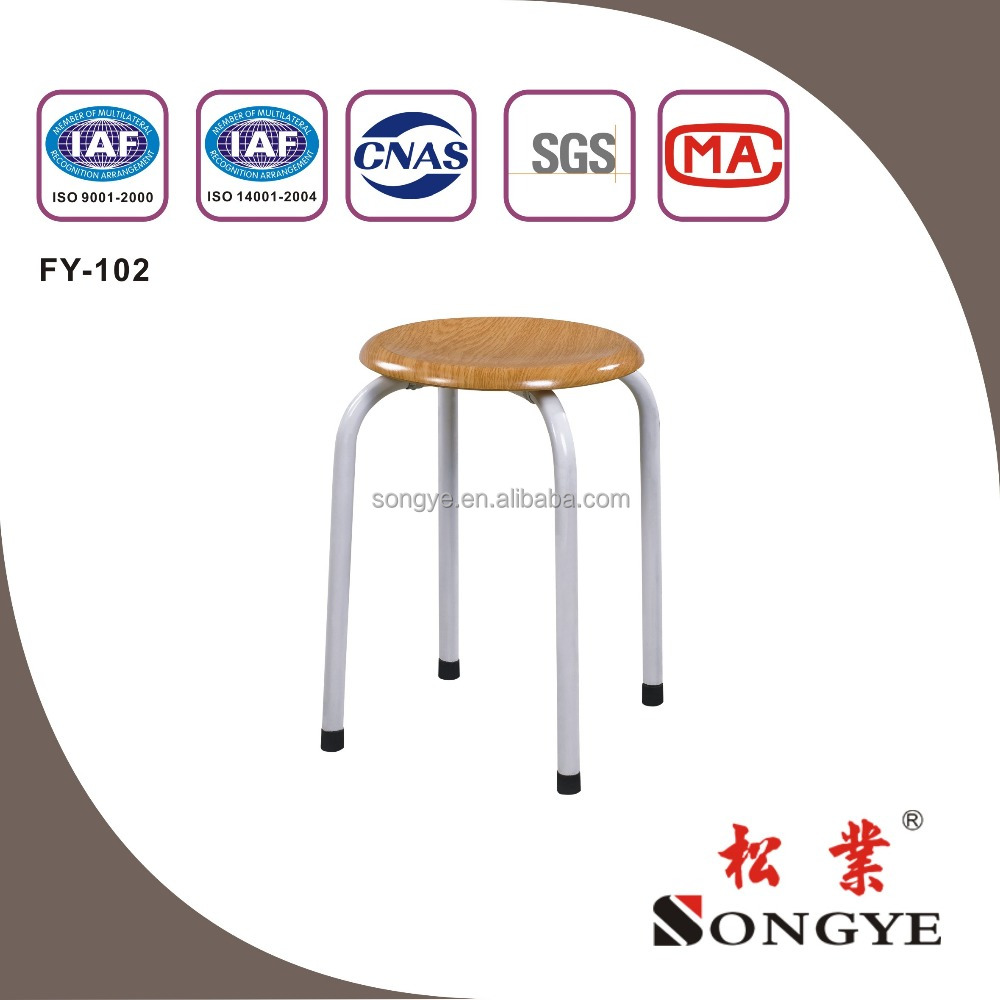 Round Stool;school furniture;student chair,FY-102,desk and chair,chair