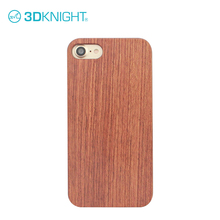 tpu + pc wooden phone case bumper for iphone 7 case custom logo