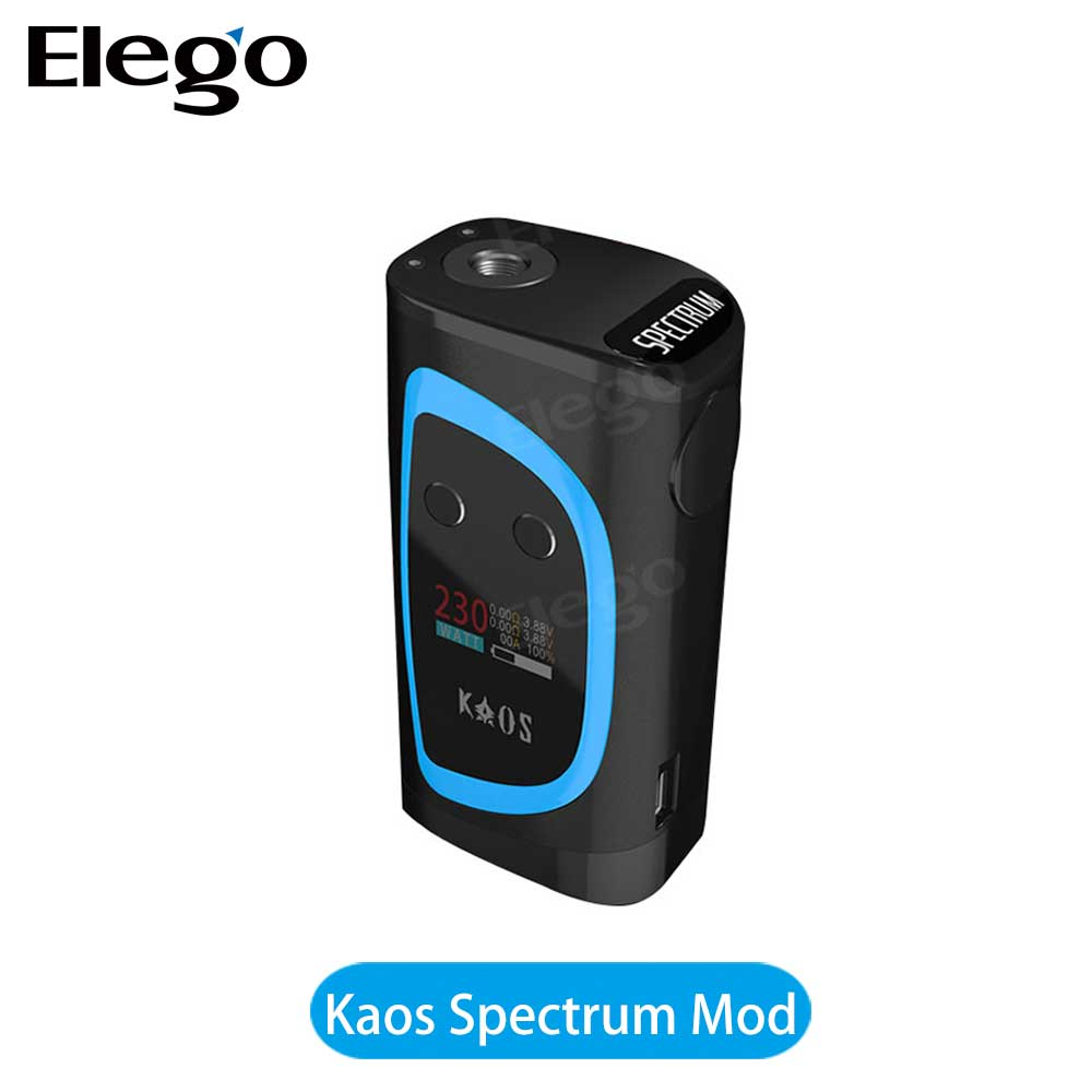 elego Supplier Kaos Spectrum Sigelei vape mod 230w box mod sigelei 230 watts big watts mod in stock