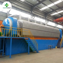 waste to energy power waste plastic recycling pyrolysis to oil plant with high oil yield