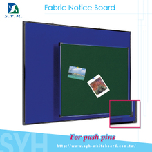 Fncy felt notice bulletin boards for push pins