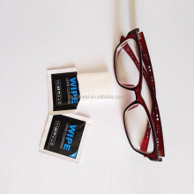 Top quality sceen lens glasses clean wet wipes cheap price