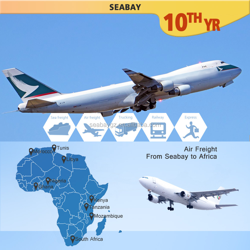 Shanghai air freight forwarding service cost to lagos