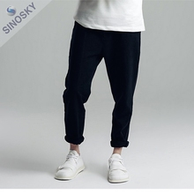 2017 Wholesale Fashion Slim fit pants , balloon fit pants for men