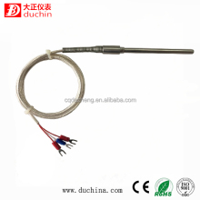 3-wire pt100 with sus304 probe
