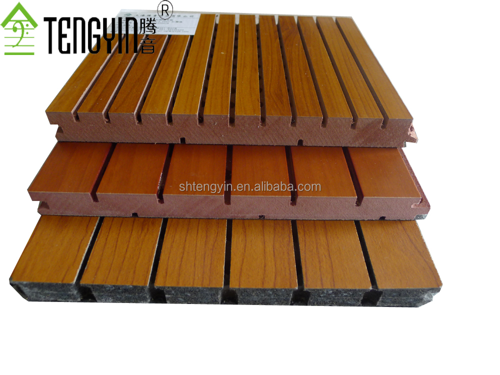 China suppliers new goods cheap wood grooved acoustic interior ceiling wall panelings
