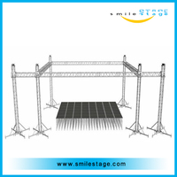 best sale outdoor metal stage roof truss for company party
