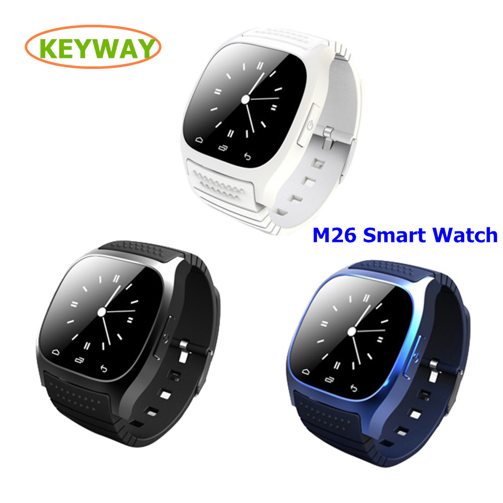 Factory Directly Supply Bluetooth Waterproof Wifi Touch Screen m26 Smart Watch For <strong>Android</strong> IOS <strong>Phone</strong>