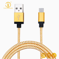 Micro USB 8pin Cable Nylon Braid USB Cable Charging Data Sync Usb Cable For IPhone7 6 6S Plus 5 5S SE IPad Air