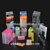 Alibaba China OEM UV Printing PVC PET PP Printing Products, New Style Plastic Packaging Box