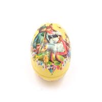 2 - pieces small Easter tin egg