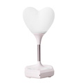 2018 New product heart shape silicone night light valentine's day best decoration LED nihgt light
