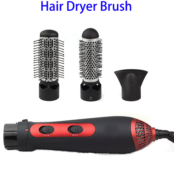 2017 Trending Products Perfect Tourmaline Ceramic Hair Dryer Brush with 3 Heat Settings