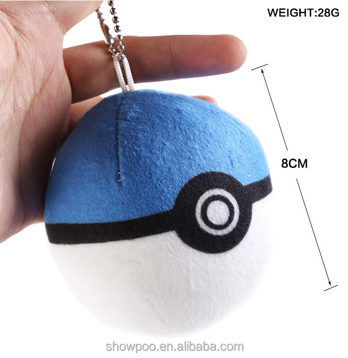 Hot Pokemon <strong>Plush</strong> Key Chain From Factory <strong>Plush</strong>