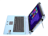 DIHAO For Surface 3 Keyboard Case Detachable Wireless Bluetooth Keyboard with Touch Pad