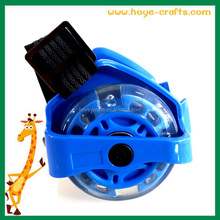 Factory promotion flashing safe rollers skate heels skating shoes wheels