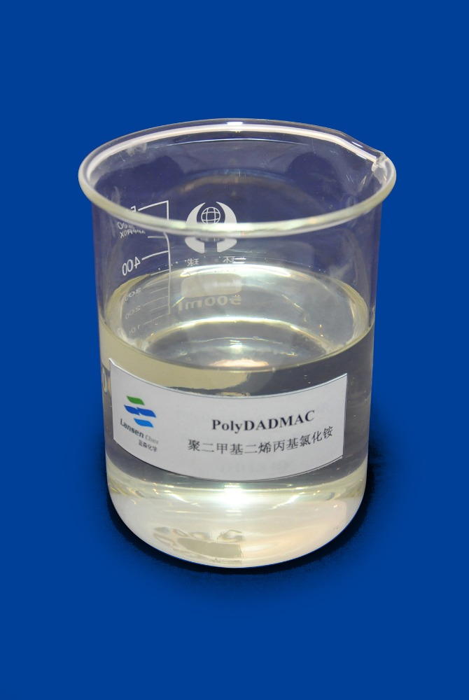 cotton textile color fixing polydadmac flocculant agent for textile sewage polydadmac