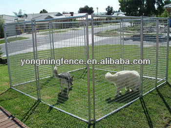Hot Dipped Galvanized dog kennel panel