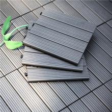 WPC swimming pool waterproof PP interlocking outdoor plastic base flooring deck tile for events