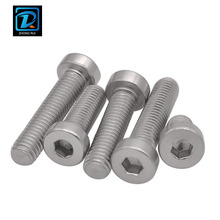 DIN7984 Stainless Steel Hexagon Socket Thin Head Cap Screw