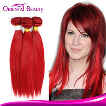Double drawn remy masterpiece 100% human hair appealing hair bands for girls special red wine hair weave
