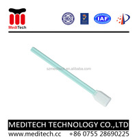 Industrial used high density cleanroom Sterile Microfiber swab MS707--passed ISO CLASS 4