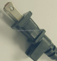 UL /CUL 10A 125V ac slot 2pin polarity pvc plug