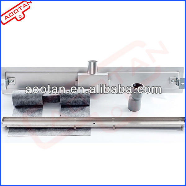 Stainless Steel Tile Insert Shower Drain , Tile Drain