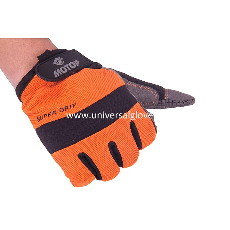 Microfiber And Foam Padding High Dexterity magnet Mechanic Working Gloves tools gloves