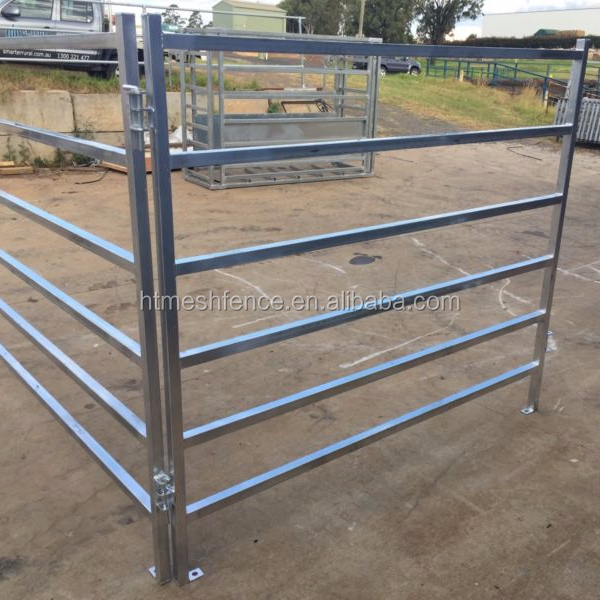 Mid-Range Cattle Panel 66 X 44 Oval 6 Rails 50 X 50 RHS Posts