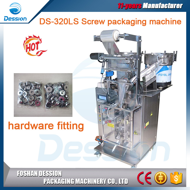 Small bag automatic counting screw hardware fitting
