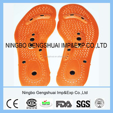 Magnet magnetic foot massage insole with lose weight function shoe pad