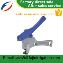 Agriculture drip irrigation system lay flat blue pvc pump garden tools hose single punch tablet press